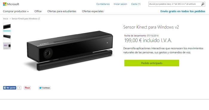 Microsoft lanzará el nuevo Kinect para Windows la próxima semana, Imagen 2
