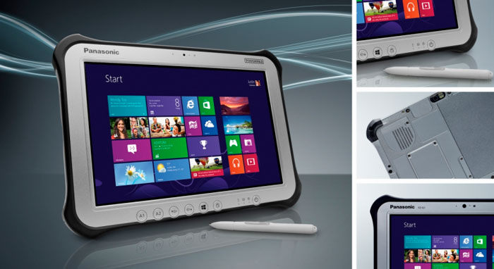 Panasonic actualiza el tablet resistente Toughpad FZ-G1 con Haswell y otras mejoras, Imagen 1