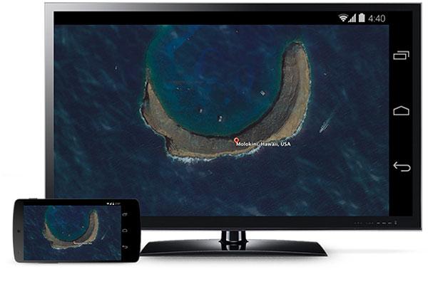 Google ya permite mostrar la pantalla del móvil en la TV con Chromecast, Imagen 1