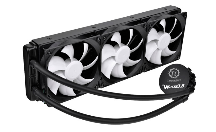 Thermaltake introduce su primer kit con radiador de 360mm, Imagen 1
