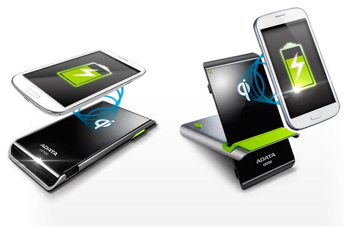 Adata introduce su base de carga inalámbrica compatible Qi , Imagen 1
