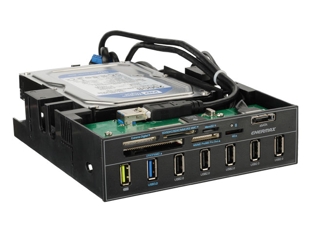 Los nuevos paneles frontales de Enermax multiplican las opciones de conectividad del PC, Imagen 1