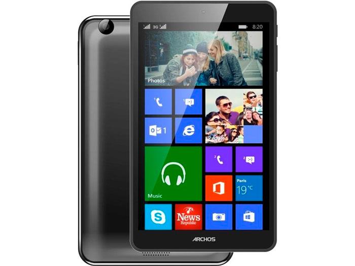 Archos lanza un tablet y un móvil con Windows para el mercado más asequible, Imagen 2
