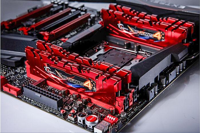 Consiguen batir el record de velocidad en memorias DDR4 con las G.Skill Ripjaws 4, Imagen 1