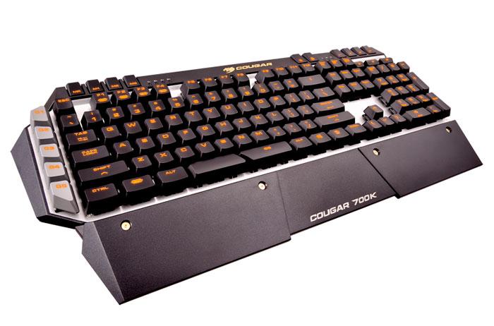 Cougar presenta su nuevo teclado mecánico de aluminio 700K, Imagen 1