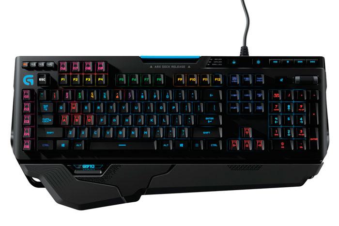 Logitech también muestra su nuevo teclado mecánico G910 Orion Spark, Imagen 1