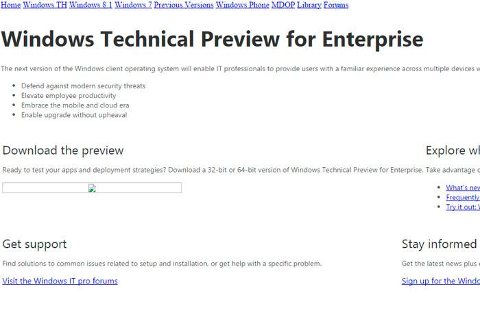 Se filtra el nombre de Windows TH para la próxima versión de Windows, Imagen 2