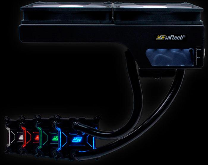Swiftech ya tiene una refrigeración líquida todo en uno de 280 mm, Imagen 1