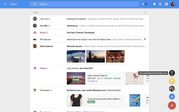 Google quiere facilitar la lectura del correo electrónico con Inbox, Imagen 1