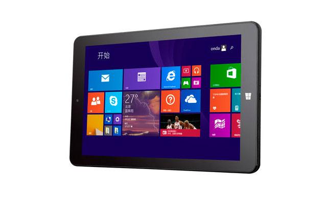 Onda V891w, 1200p y Windows 8.1 en un tablet de 100 Euros, Imagen 1