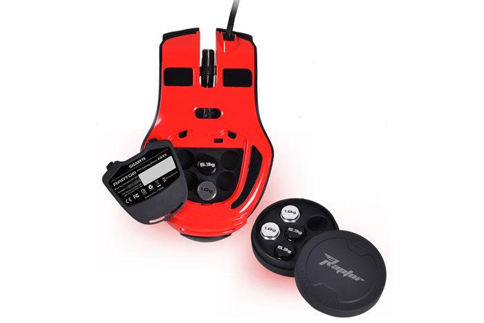 Gigabyte Raptor, un ratón gaming con sensibilidad regulable de 50 a 4000 DPI, Imagen 2