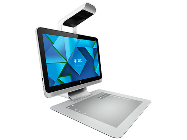 HP Sprout, un PC todo en uno con proyector y tableta táctil, Imagen 1