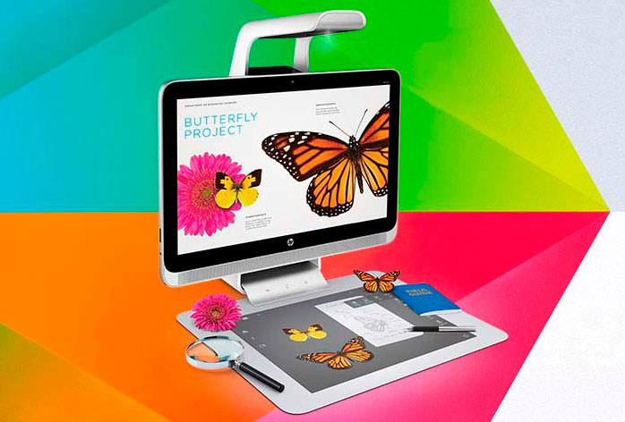 HP Sprout, un PC todo en uno con proyector y tableta táctil, Imagen 2