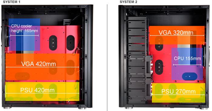 Lian Li PC-D666, una misma torre para dos ordenadores, Imagen 3