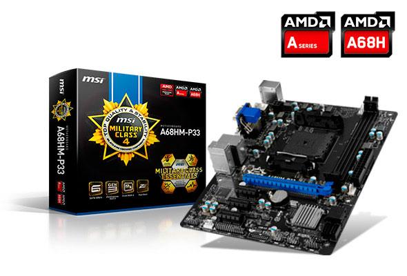 Nuevas placas base de MSI con chipset A68H por tan solo 49 Euros, Imagen 1