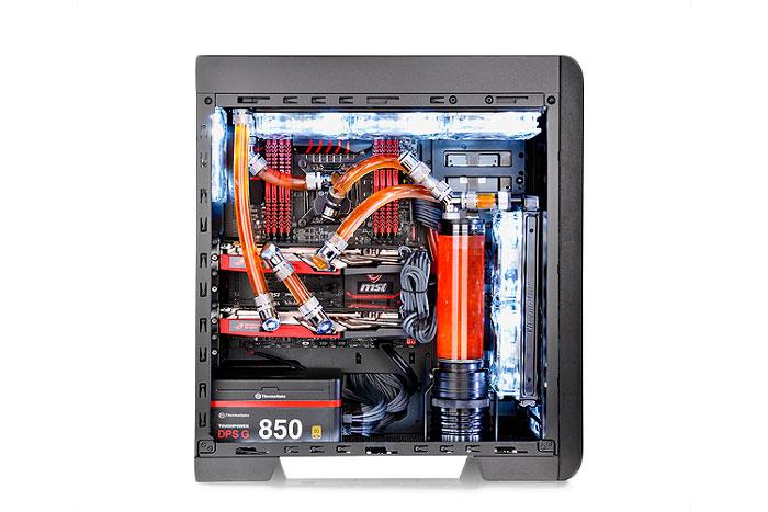 La nueva Thermaltake Core V41 mantiene su apuesta por la refrigeración líquida, Imagen 1