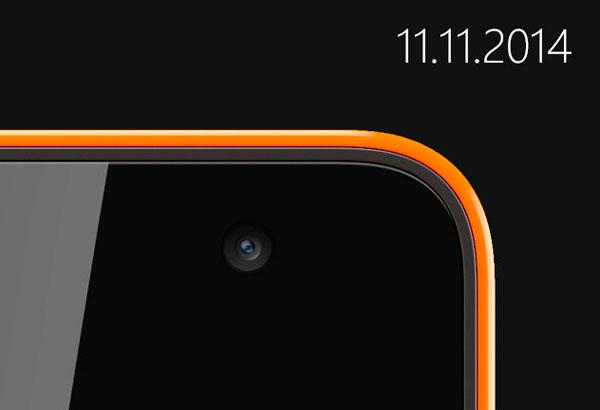 El 11 de noviembre llegará el primer smartphone bajo la marca Microsoft Lumia, Imagen 1