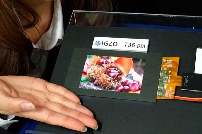 Sharp desarrolla una pantalla para smartphones con una densidad de 736 puntos por pulgada, Imagen 1