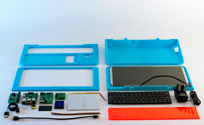 Pi-Top, un portátil que puedes imprimir en casa, Imagen 2
