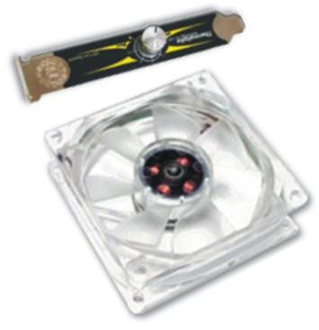 Smart Case Fan-Blue LED ventilador autorregulable de Thermaltake, Imagen 1