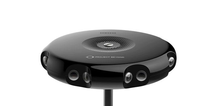 Samsung sorprende con su cámara de 360 grados Project Beyond, Imagen 1