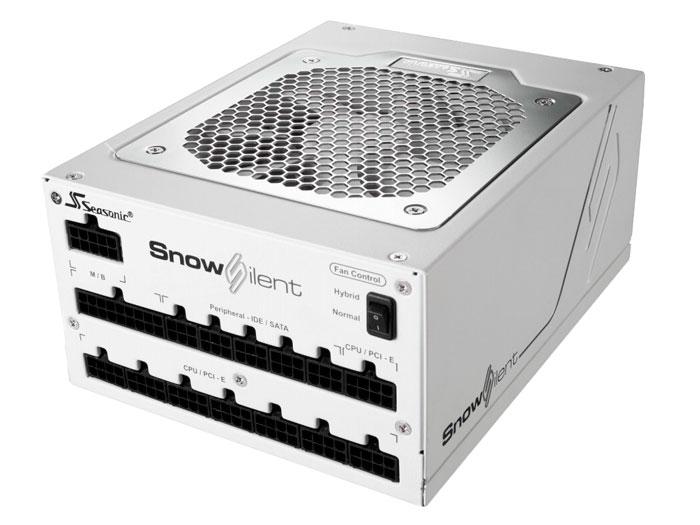 Seasonic Snow Silent, 1050W de potencia en color blanco, Imagen 1