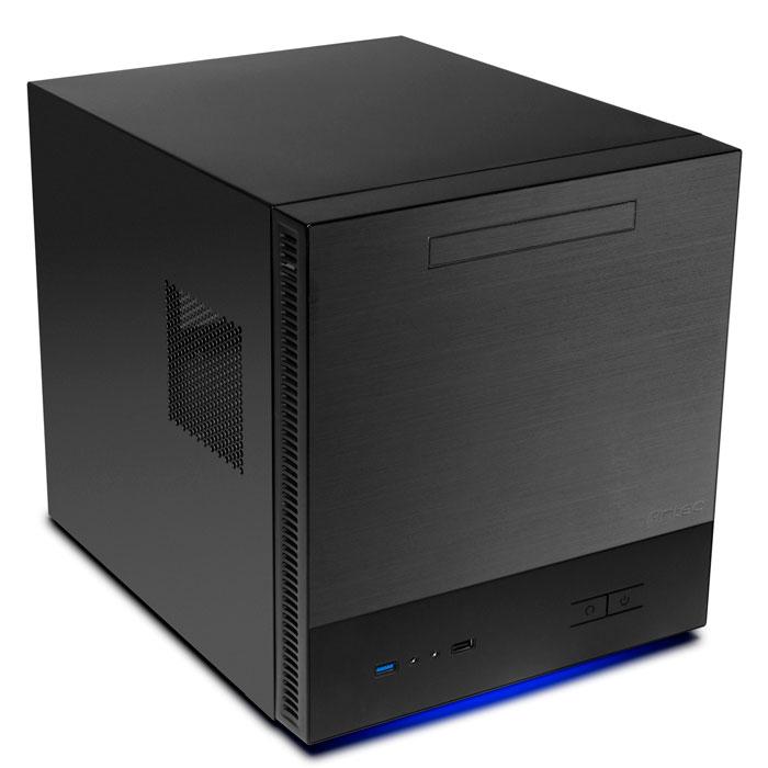 Nueva torre cúbica Antec ISK600M para placas Micro-ATX, Imagen 1