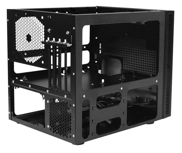 Nueva torre cúbica Antec ISK600M para placas Micro-ATX, Imagen 2