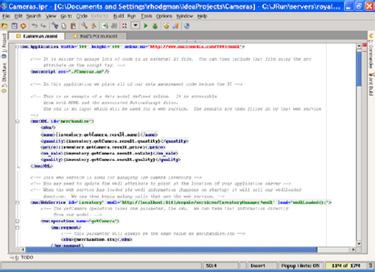 Macromedia presenta su nuevo programa, Flex, para diseño Web, Imagen 1