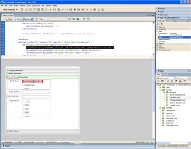Macromedia presenta su nuevo programa, Flex, para diseño Web, Imagen 2