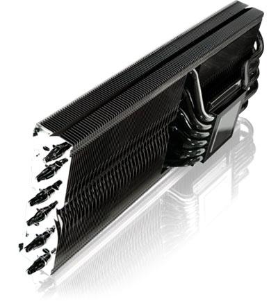 Raijitenk Morpheus Core: 12 heatpipes para refrigerar tarjetas gráficas, Imagen 1