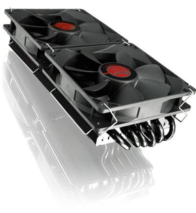 Raijitenk Morpheus Core: 12 heatpipes para refrigerar tarjetas gráficas, Imagen 2