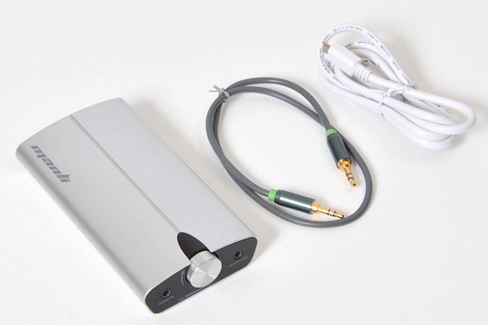 WoodStock NX, un amplificador de auriculares portátil para smartphones, Imagen 1