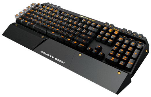 El nuevo teclado Cougar 500K integra la tecnología N-Key Rollover, Imagen 1