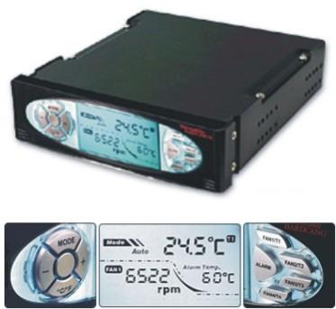 Regulador de ventilador y ventilador de Thermaltake, Imagen 1
