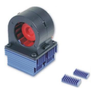 Regulador de ventilador y ventilador de Thermaltake, Imagen 2