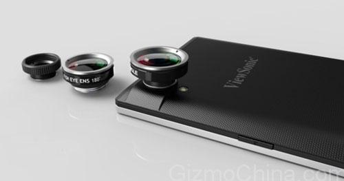 El smartphone ViewSonic V55 integrará sensor de reconocimiento de Iris, Imagen 2