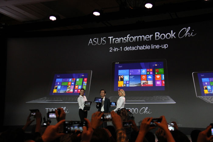 ASUS Transformer Chi, nuevos transformables ultrafinos con Windows 8.1, Imagen 3