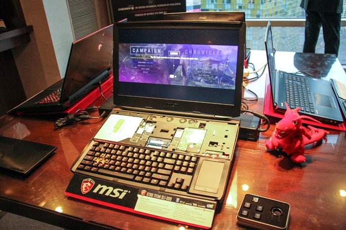 MSI nos muestra el impresionante portátil GT80 TITAN SLI con dos GTX 980M y teclado mecánico, Imagen 2