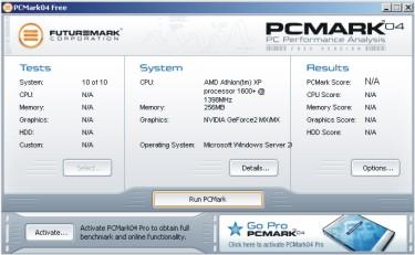 Futuremark presenta su nuevo producto PCMark 04, Imagen 2