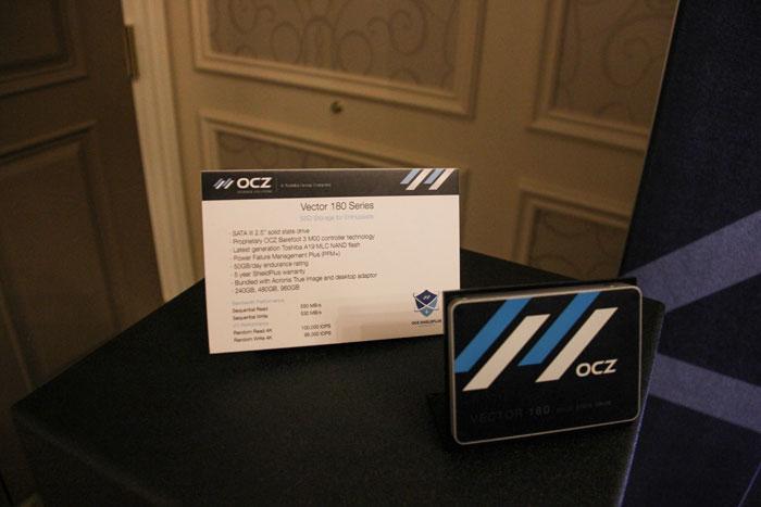 OCZ estrena nueva controladora para SSD y presenta el Vector 180, Imagen 1