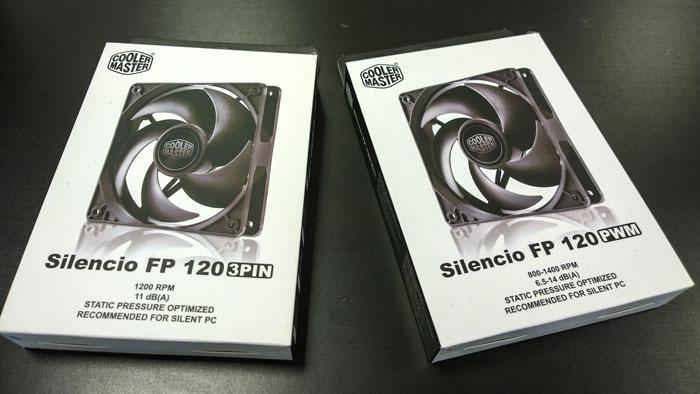 Cooler Master lanza sus ventiladores Silencio FP 120 para torres silenciosas, Imagen 1