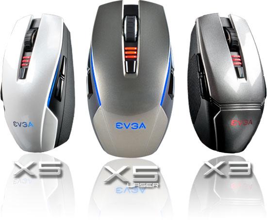 EVGA completa su gama de ratones gaming con los nuevos TORQ X3 y X5, Imagen 1