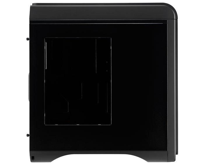 AeroCool hace más discreta su torre DS200 con un acabado negro, Imagen 2