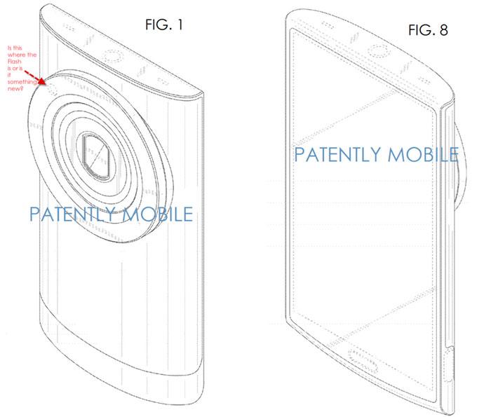 Se filtra la patente de un nuevo smartphone con zoom de Samsung, Imagen 1
