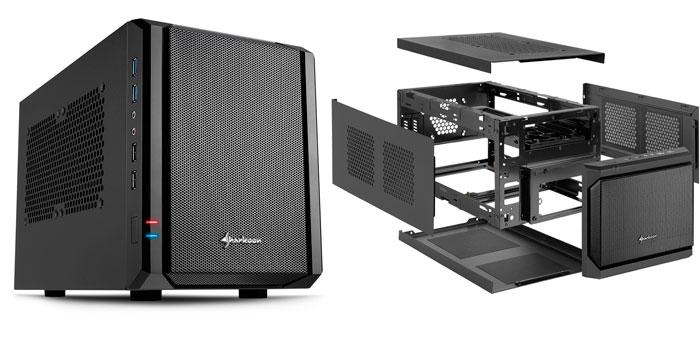 Sharkoon presenta dos nuevas torres cúbicas para placas mini-ITX, Imagen 2