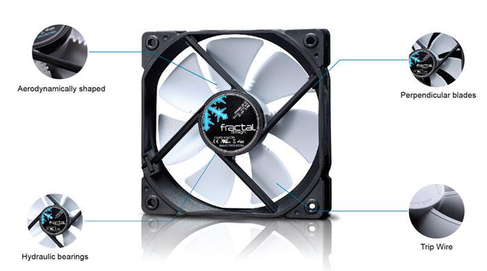 Fractal Design aumenta su catálogo de ventiladores con nuevos modelos silenciosos y multiuso, Imagen 1