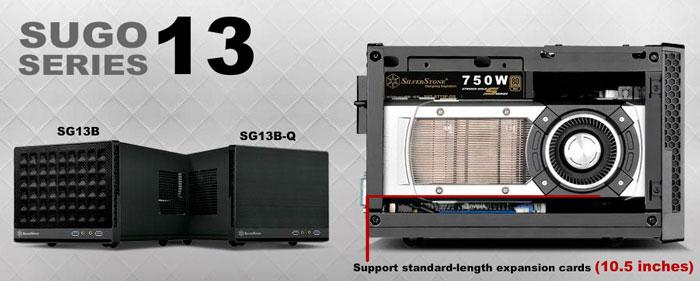 La gama de torres  SUGO de SilverStone recibe un nuevo modelo cúbico mini-ITX, Imagen 2