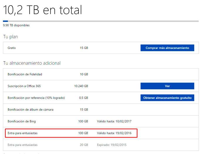 Microsoft regala otros 100 GB de almacenamiento en Onedrive... a los usuarios de Dropbox, Imagen 1