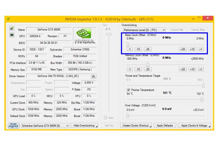 Parece que las nuevas vBIOS de las GTX 900M bloquean de nuevo el overclock, Imagen 3